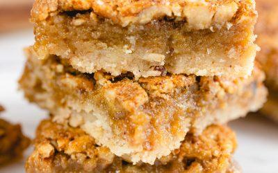 Perfect Pecan Pie Bars #FallFlavors