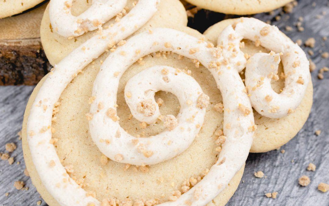 Churro Cookies #halloweentreatsweek