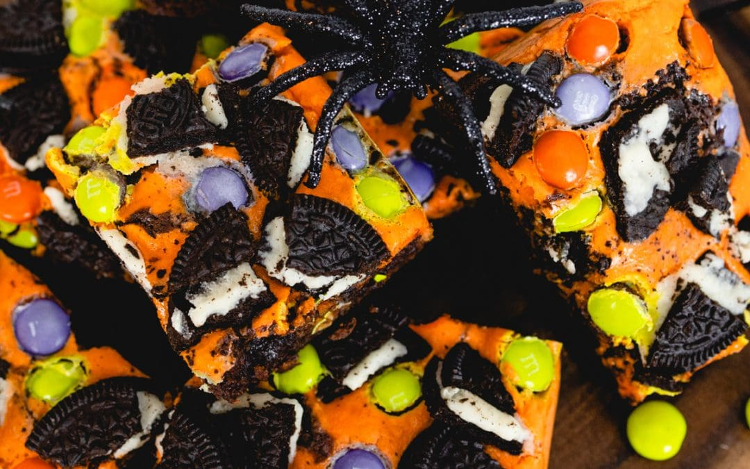 Halloween Brownies for #halloweentreatsweek