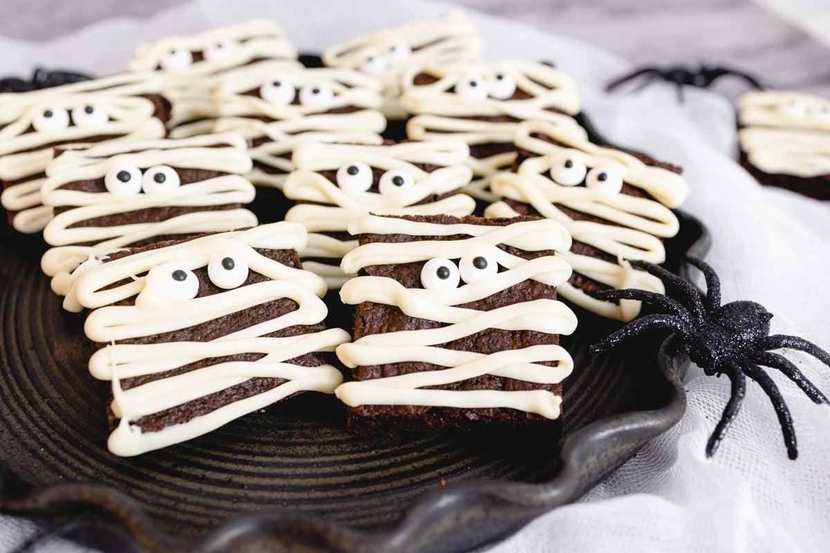 Mummy Brownie Recipe